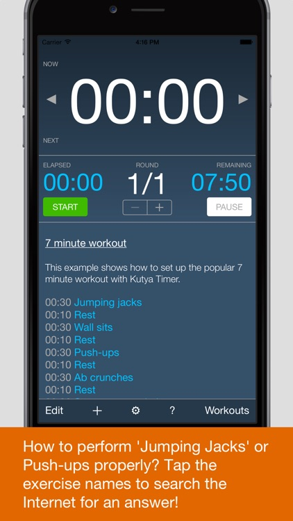 Kutya Timer - HIIT & Intervals screenshot-3