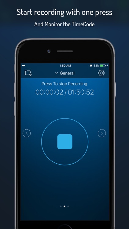 Q-Recorder Pro - Voice Recorder screenshot-0