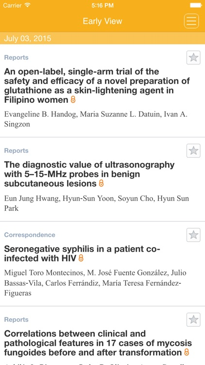 International Journal of Dermatology screenshot-1
