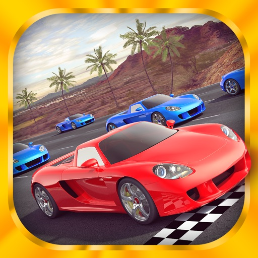 Desert Speed Racing: Need for Real Asphalt Drift 3D - Underground Race Addiction icon