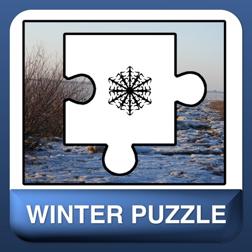 A beautiful winter and snow puzzle - free