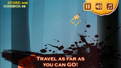 Baby Wild Wolf - Moonlight Jungle Flight Adventure - Full Version screenshot two