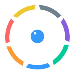 Color Bounce - Spinny Circle&Drop Ball Simple Reaction Game