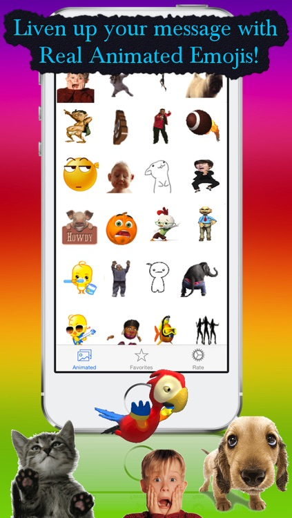 Real Animated Emojis screenshot-0