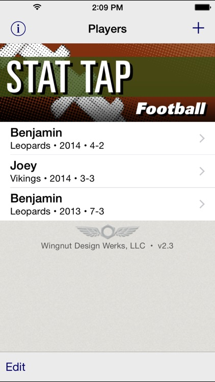 Stat Tap Football screenshot-0
