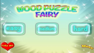 A Magical Fairies Wood Puzzle Match Learning Game
