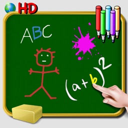 Blackboard to write and draw on iPad