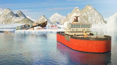3D Icebreaker Parking - Arctic Boat Driving & Simulation Ship Racing Gamesのおすすめ画像4