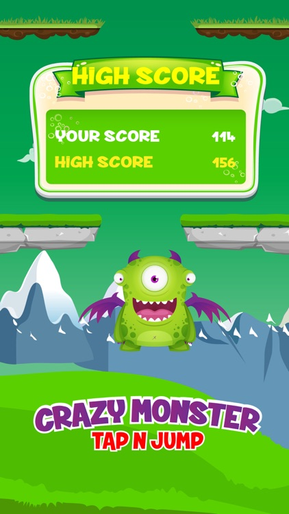 Crazy Monster - Tap N Jump screenshot-3