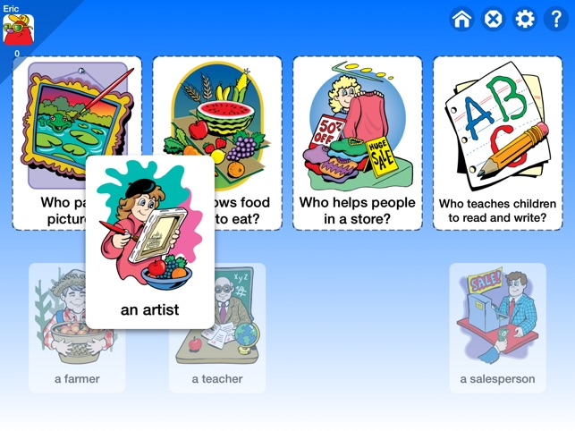 WH Question Cards: Who, What, When, Where, Why on the App Store