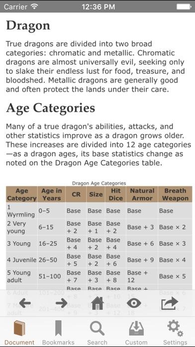 Screenshot #9 for RPG Books