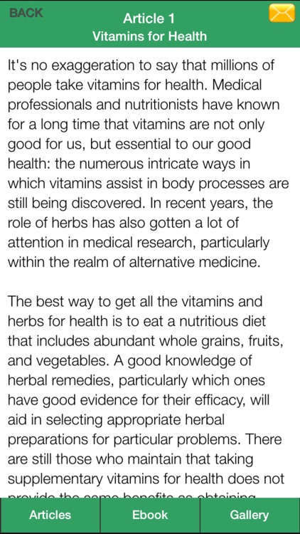 Vitamin Guide - A Guide To Eating Right Vitamin For Healthy! screenshot-4
