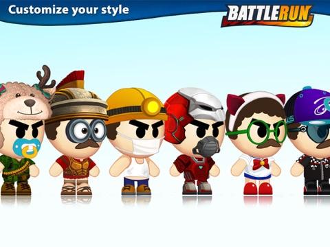 Игра Боевые гонки (Battle Run)