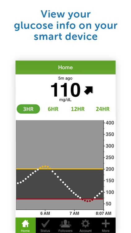 Dexcom Share2 screenshot-1