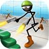 Stickman Run 'n Gun - iPadアプリ