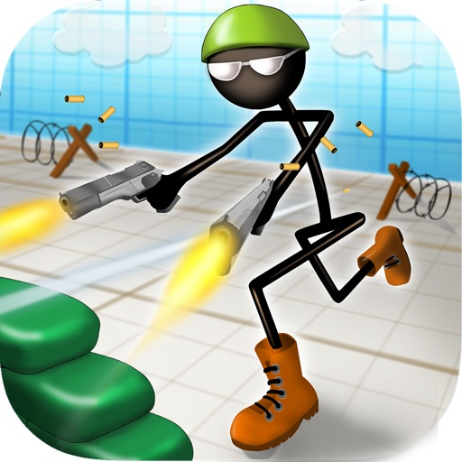 Stickman Run n Gun