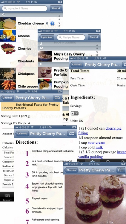 Pudding and Mousse Recipes screenshot-3