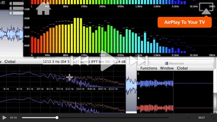 AV for WaveLab - Editing and Metering screenshot-4