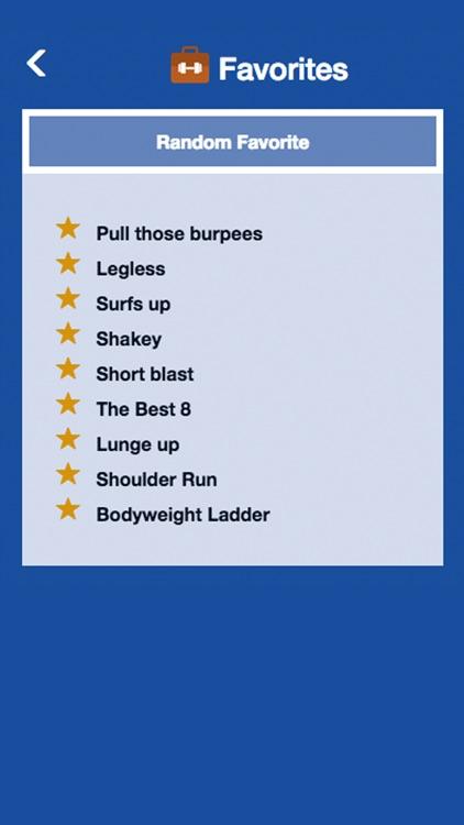 Travel Workouts   WODs - TrekFit screenshot-3
