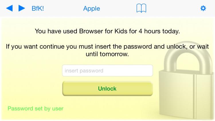 Browser for Kids Lite – Parental control safe browser with internet website filter