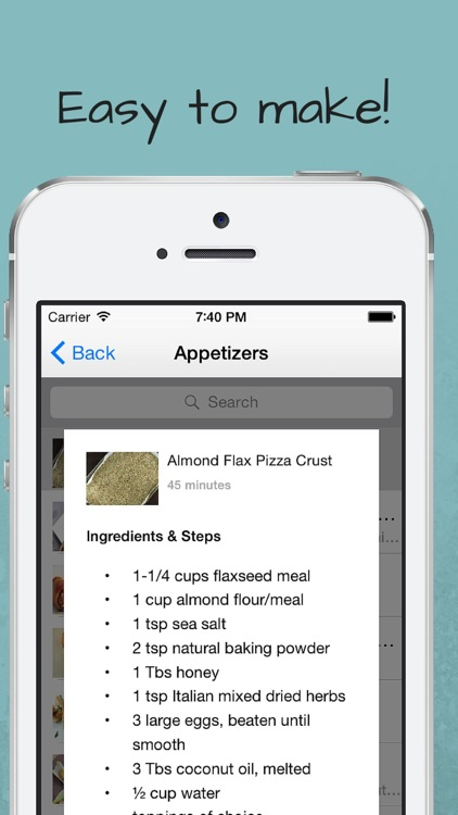Paleo Lunch Recipes screenshot-4