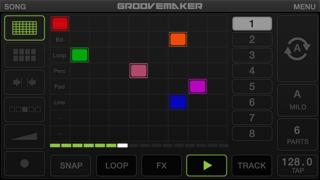 Screenshot #1 pour GrooveMaker 2