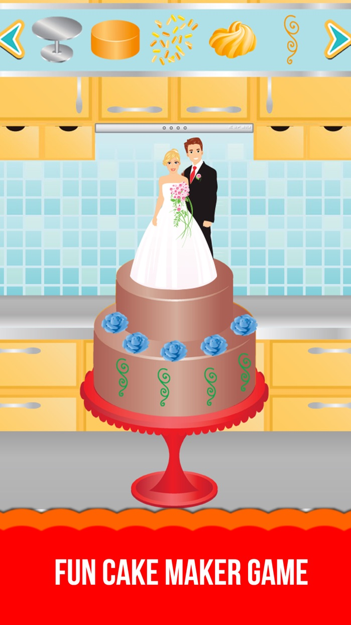 My Cake Shop HD - Cake Maker Game Screenshot