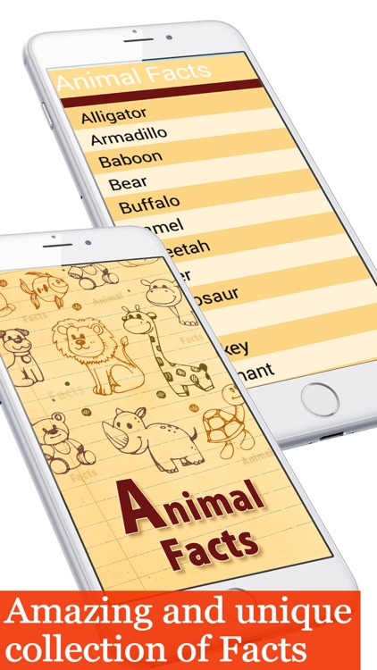 Animal facts collection