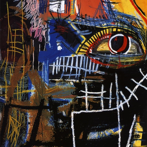 Jean-Michel Basquiat Paintings HD Wallpaper and His Inspirational Quotes Backgrounds Creator icon