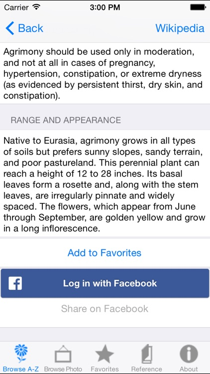 iPlant with Brigitte Mars: A Wild Plant Reference Guide screenshot-2