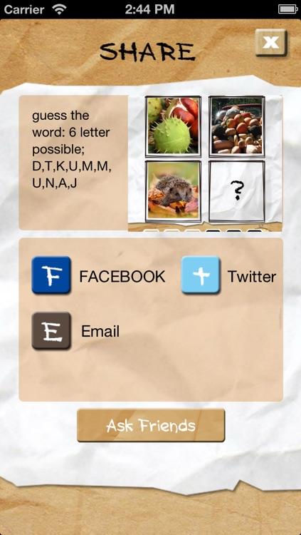 4 Pics 1 Word More Question screenshot-4