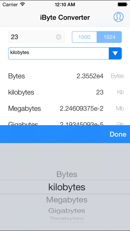 iByte Converter