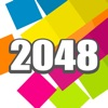 A 2048 Game of Color Match 2 Tiles Puzzle Game