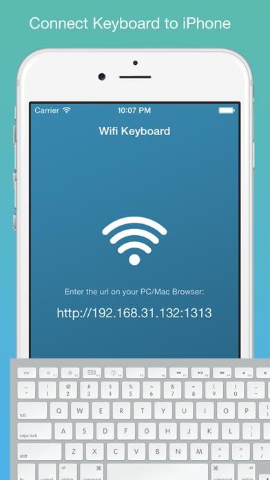Wifi Keyboard - Connect your keyboard to iPhone/iPad with Wifiのおすすめ画像1