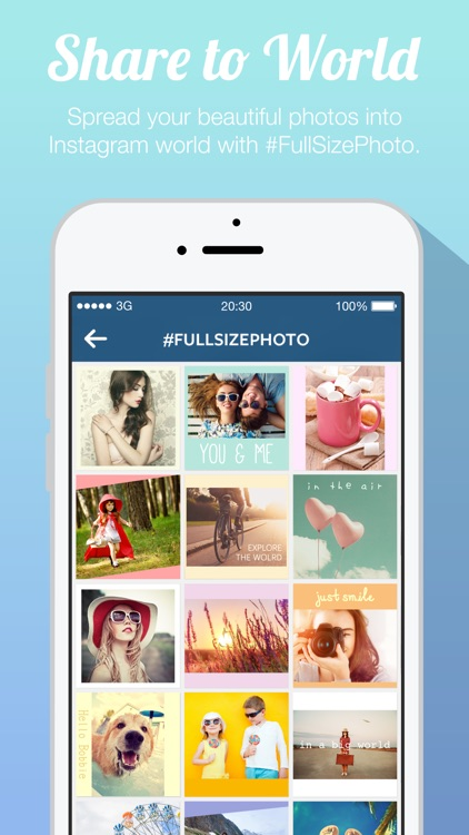 Full Size Photo FREE - Post Entire Photos Picture and Image on Instagram without Square Cropping screenshot-4