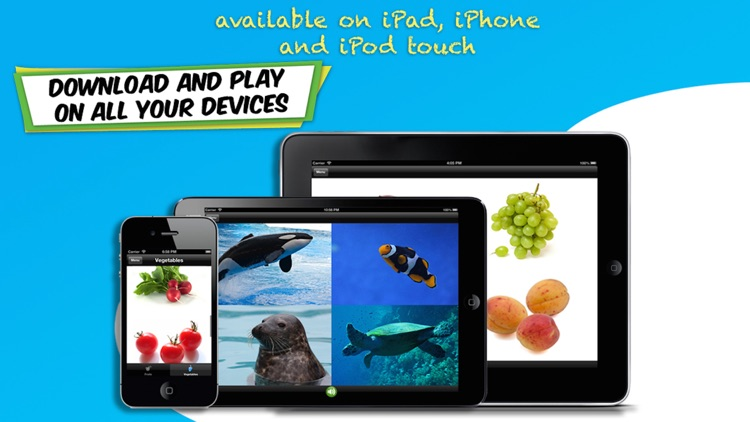 ABC for Kids (US English) - Learn Letters, Numbers and Words with Animals, Shapes, Colors, Fruits and Vegetables screenshot-4