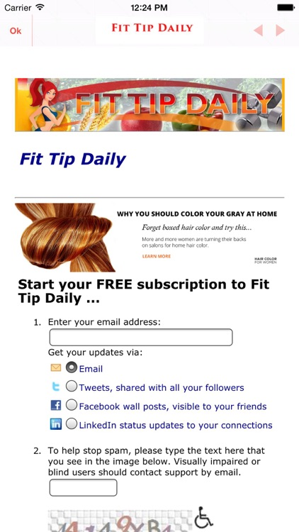 Fit Tip Daily