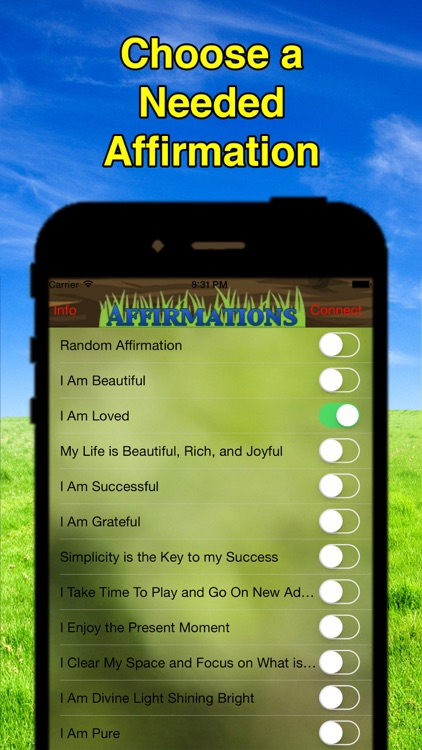 Affirmation Transformation screenshot-1
