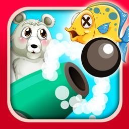 A Polar Bear Fish Shooter Cannon Skill Fun Free