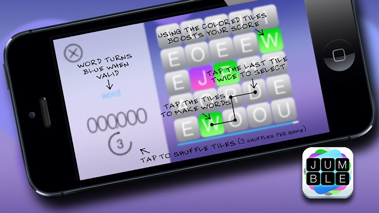 Jumble FREE - The mind boggling word search game screenshot-4