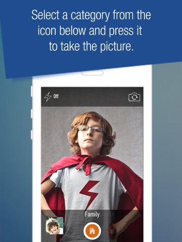 Photo File - Organize your photos before you even snap a shot screenshot