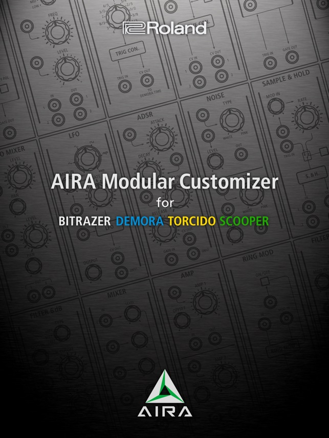 AIRA Modular Customizer Screenshot
