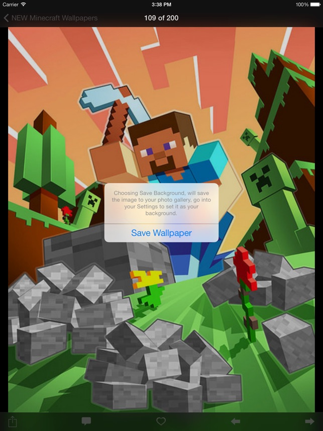 New Wallpapers For Minecraft Edition Backgrounds Mini Mine Forum On The App Store