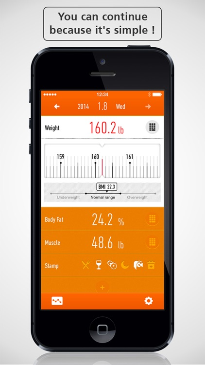 Simple Weight Loss Tracker - RecStyle -