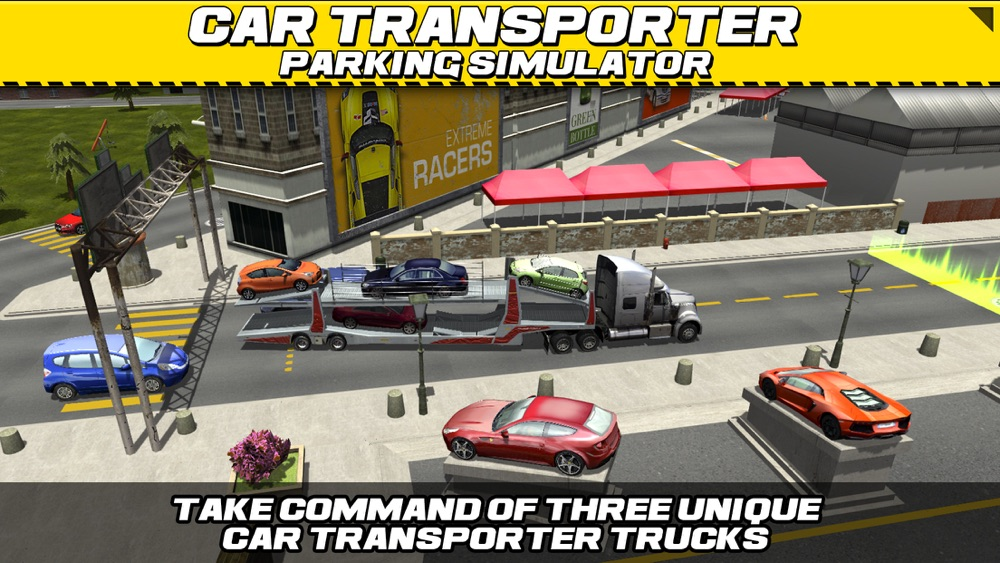 Car Transport Truck Parking Simulator – Real Show-Room Driving Test Sim Racing Games Cheat Codes