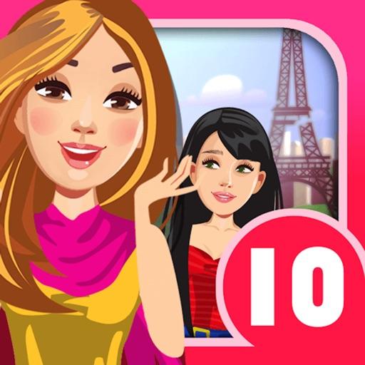 My Teen Life High School Paris Adventure Episode Story - Challenging Interactive Gossip Game FREE Icon