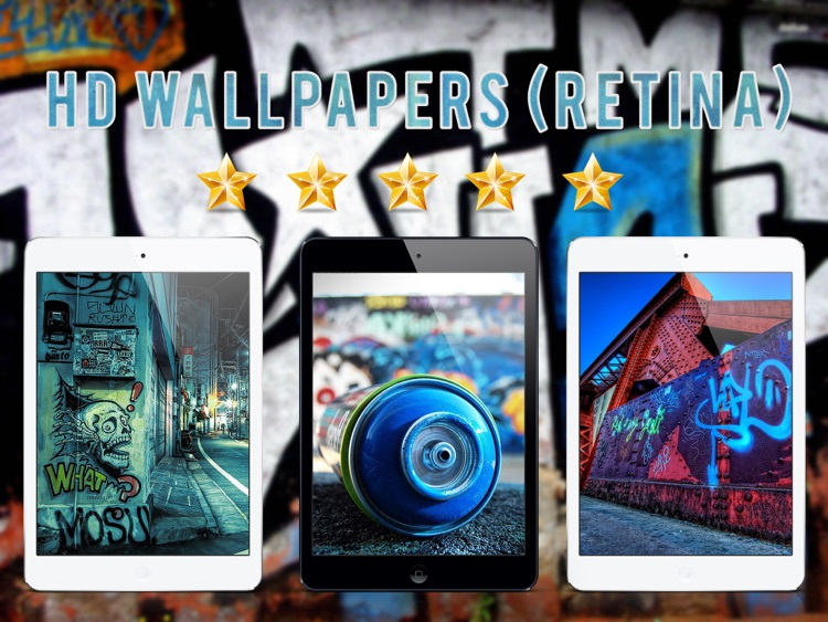 HD Wallpapers for Graffiti - iPad Version