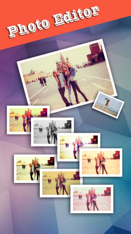 Pic Frame Magic HD - Photo Collage Maker & Grid Creator, add Stamps and Filter Effects screenshot-3