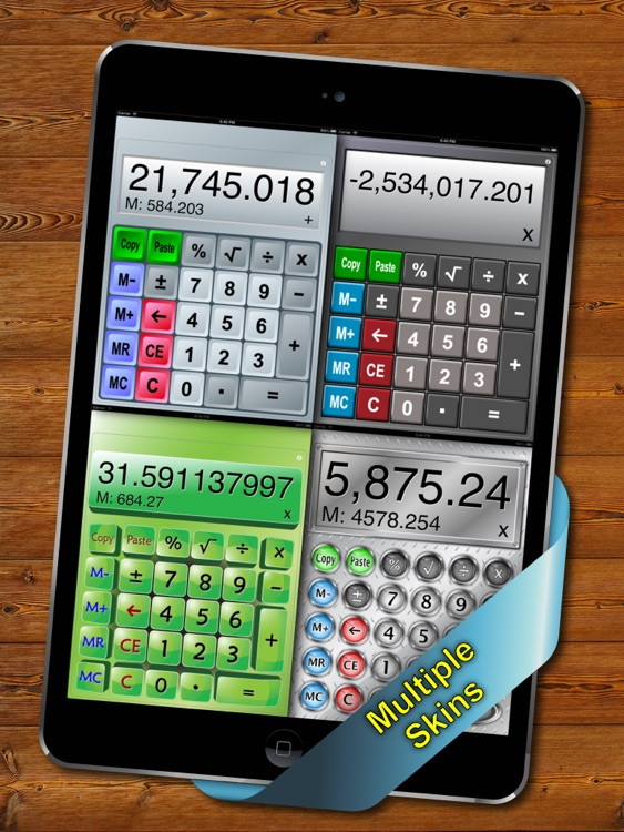 Split View Calculator for iPad