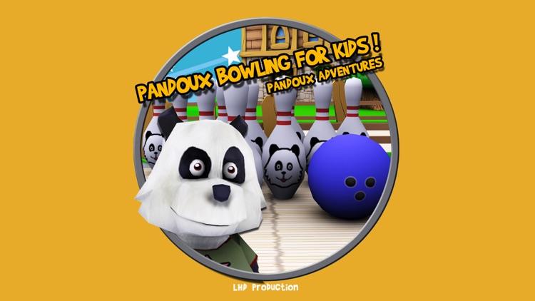 pandoux bowling for kids - free game screenshot-4